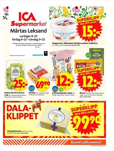 veckans erbjudande ica supermarket