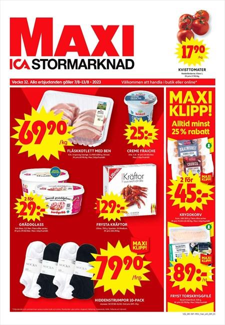 Avdelningar | Maxi ICA Stormarknad Kristinehamn