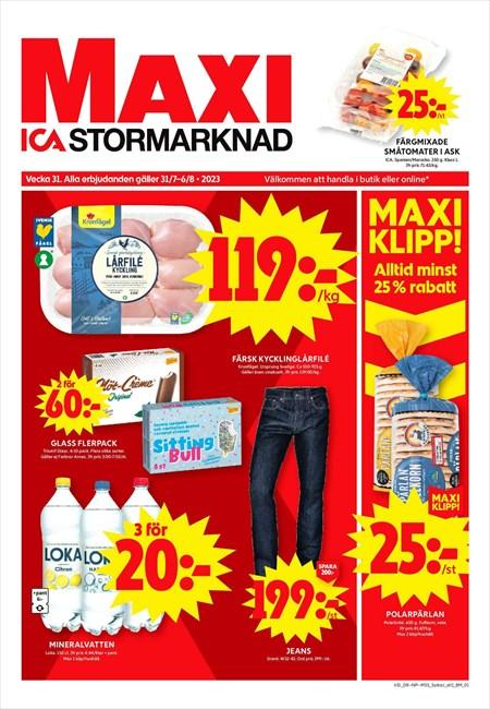 Mobiltelefon Ica Maxi
