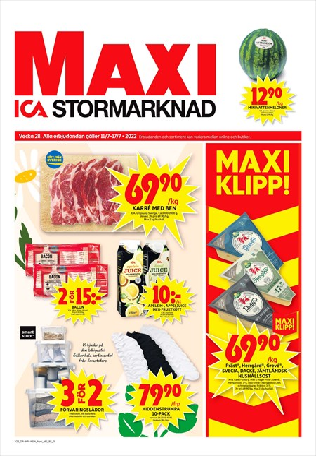Erbjudanden och rabatter | ICA Maxi | ICA