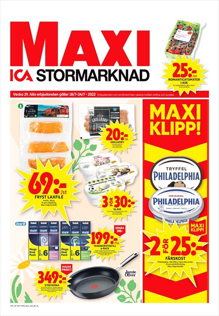 Start | Maxi ICA Stormarknad Skellefteå