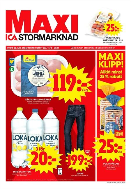 maxi stormarknad hässleholm