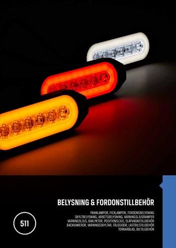 Belysning & Fordonstillbehör