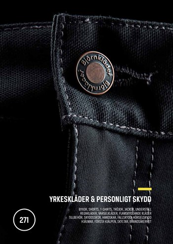 Yrkeskläder & Personligt skydd