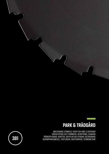 Park & Trädgård