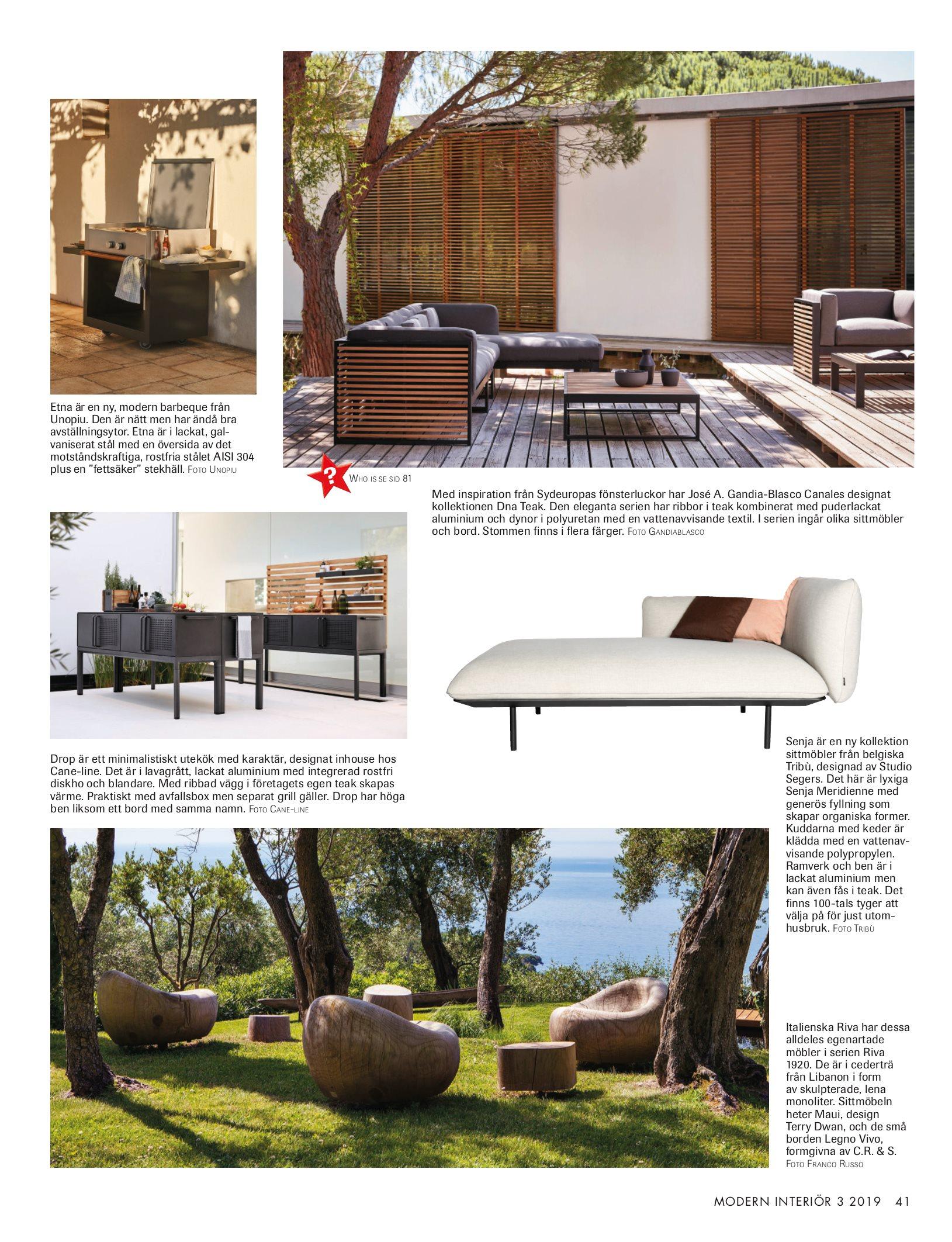 In Legno Wood Design nya numret av modern interiör (nr 3, 2019)